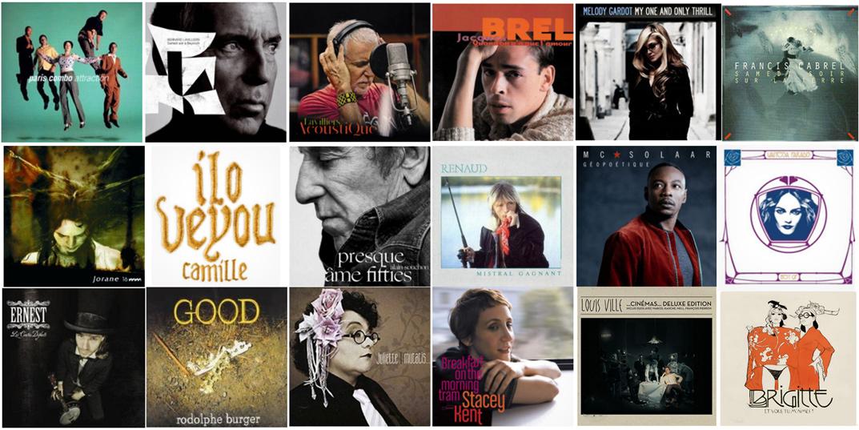 19 décembre, Top 19 de nos chansons françaises préférées  19chan10