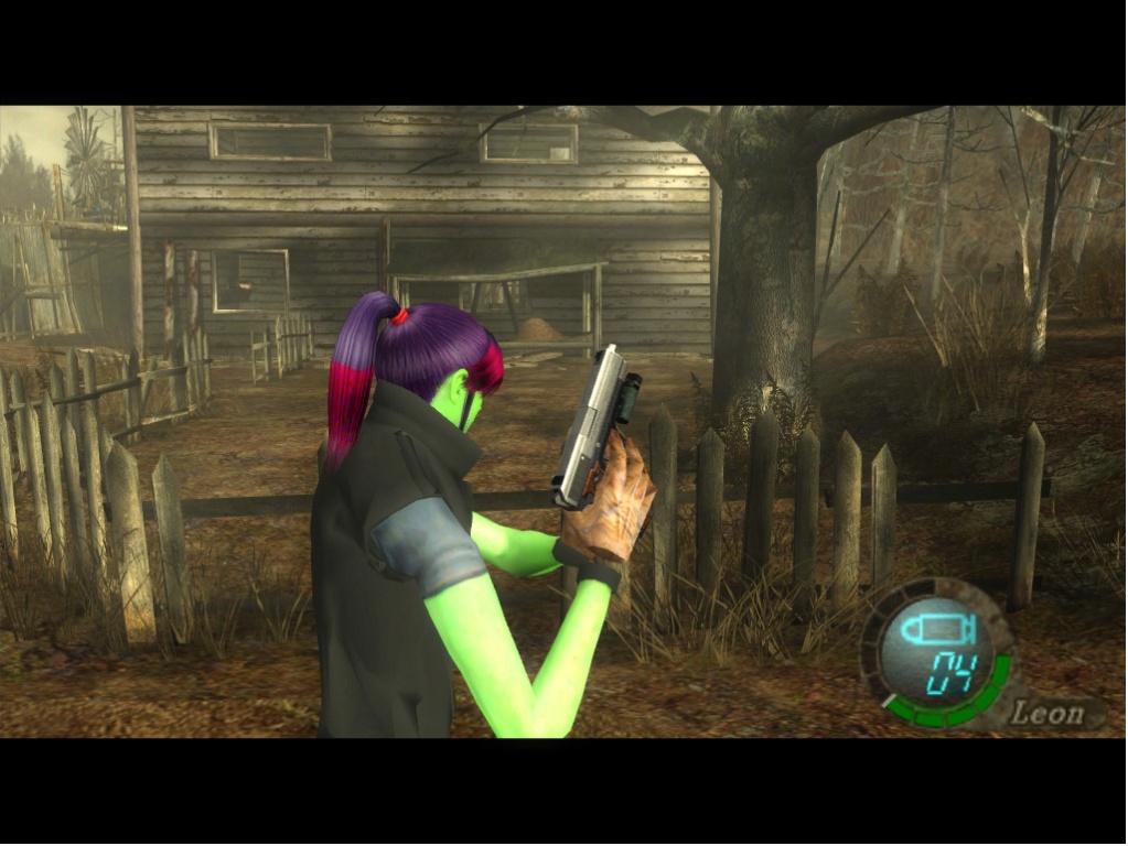 Gamora Claire Redfield X Leon maingame (Solo reemplaza traje predeterminado). Gamora16