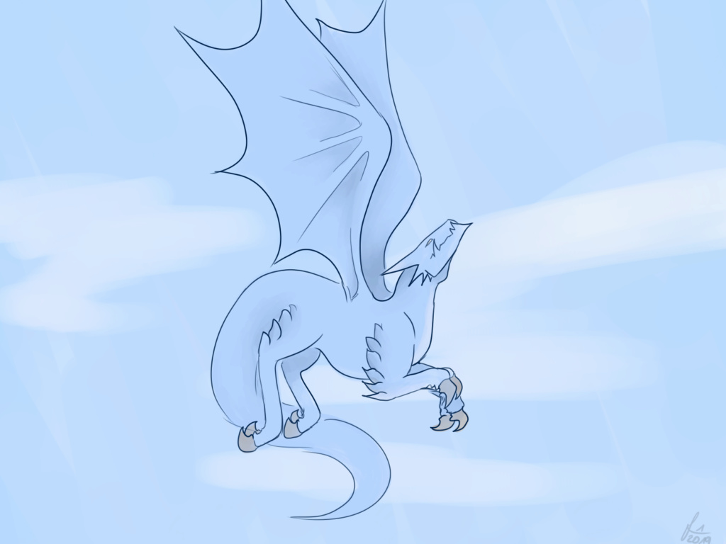 A little dragon :) Also my Instagram profilepic Cloudd11