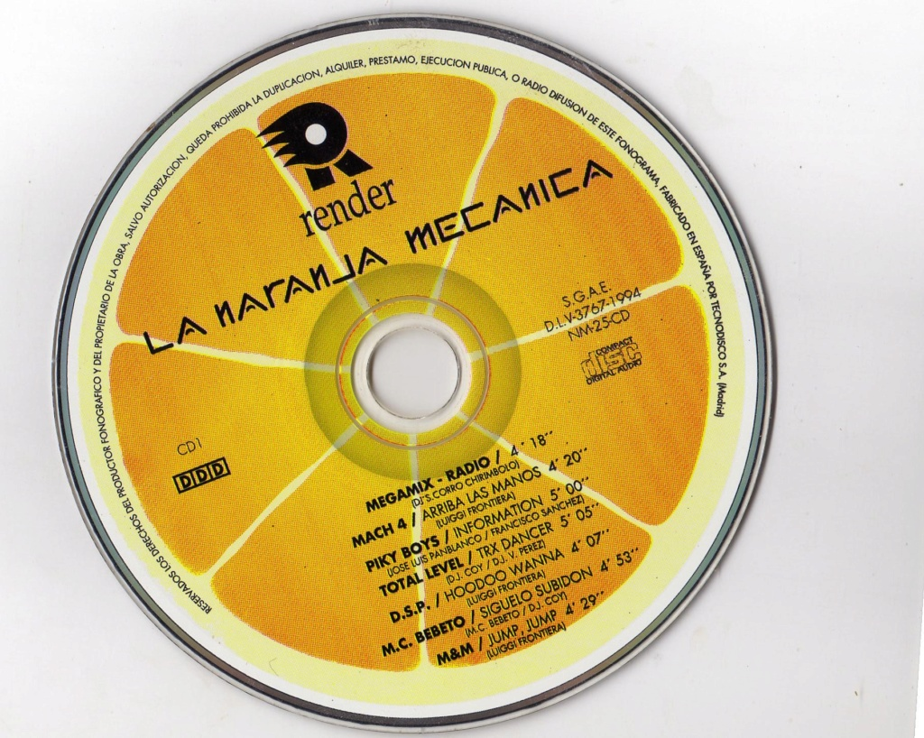 LA NARANJA MECANICA (1994) render music  Cd-110