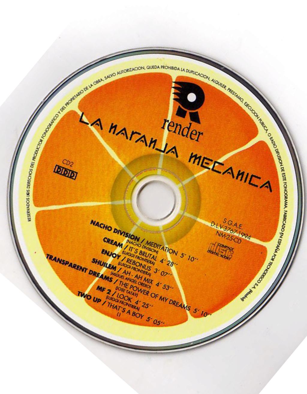 LA NARANJA MECANICA (1994) render music  Cd-210