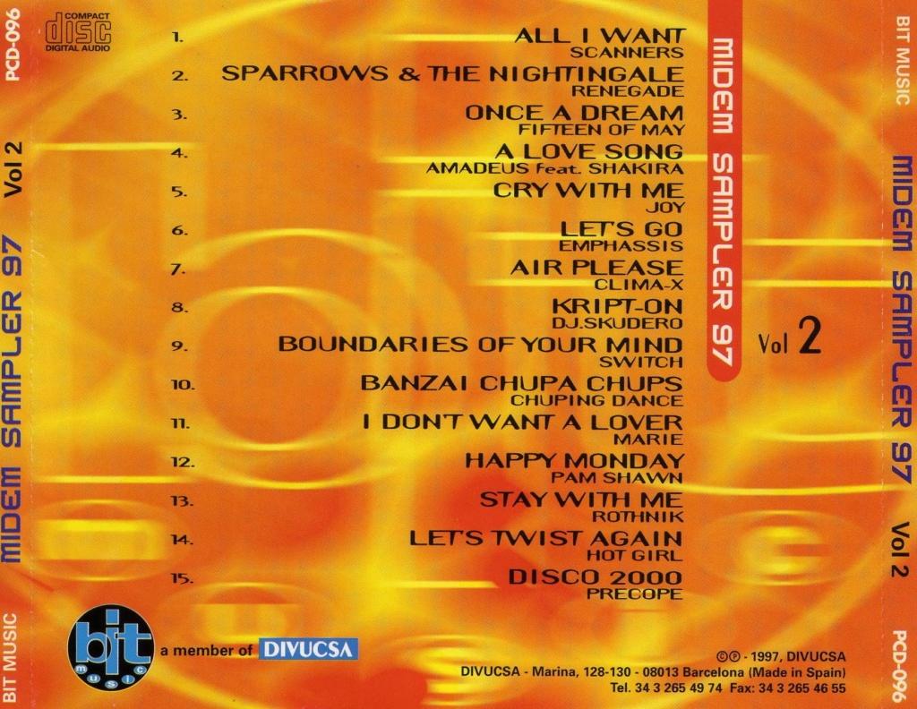 MIDEM SAMPLER 97 vol 2  (1997) BIT MUSIC File0016