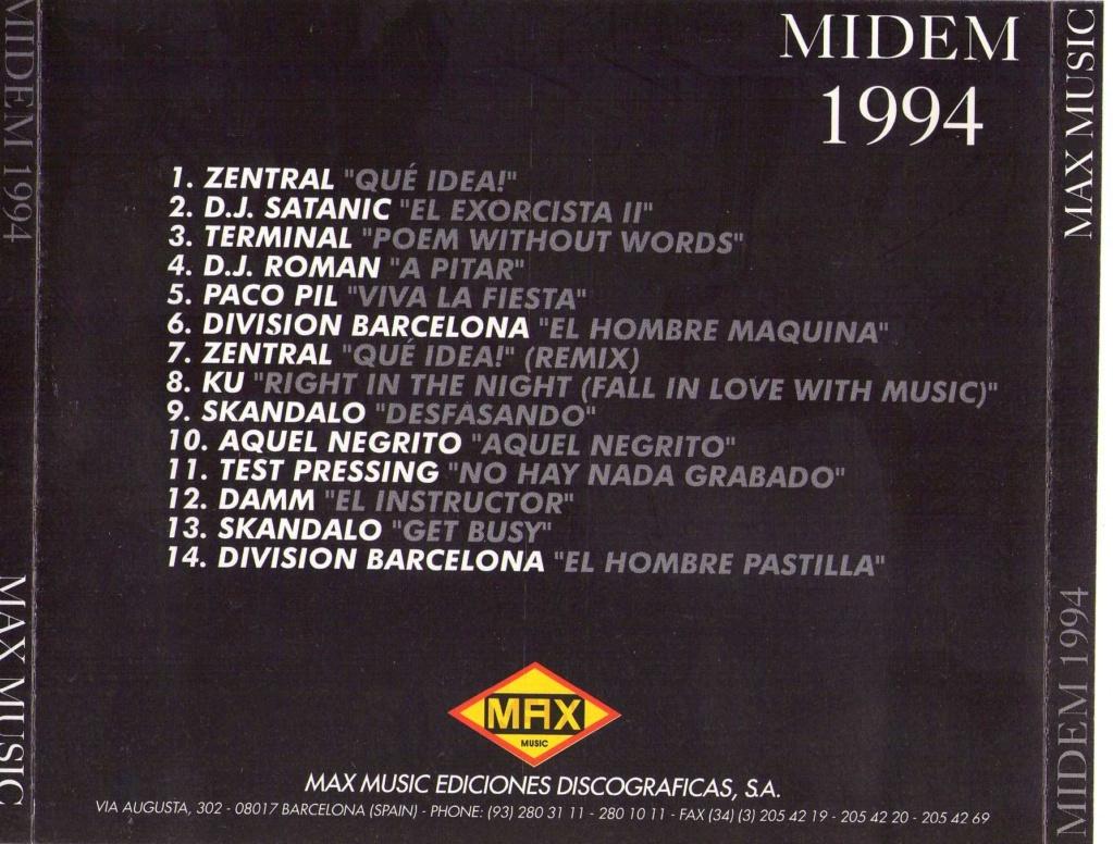 MIDEM 94 (1994) MAX MUSIC Img02510