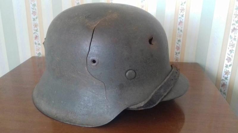 2 casques allemand 11902110