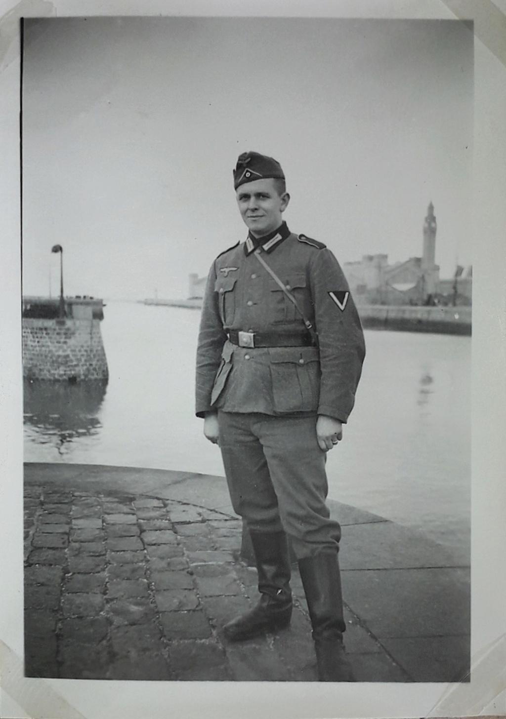 Photo soldat allemand cherbourg 1940 15961310