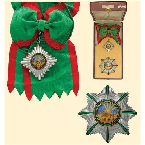 Ordre du Lion et du Soleil de Perse (ou Ordre du Homayoun d'Iran) Grand_10