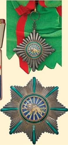 Ordre du Lion et du Soleil de Perse (ou Ordre du Homayoun d'Iran) Plein_10