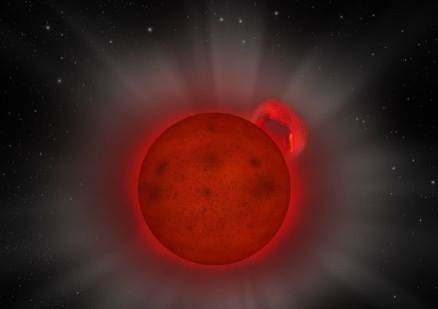 Il lampo straordinario di una stella quasi spenta 7793ed10