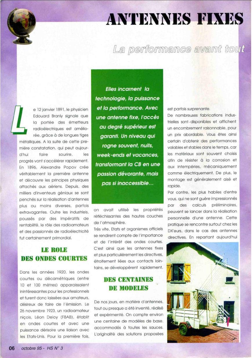 CB Connection - HS Spécial Antenne Fixes (Octobre 1995) Image110