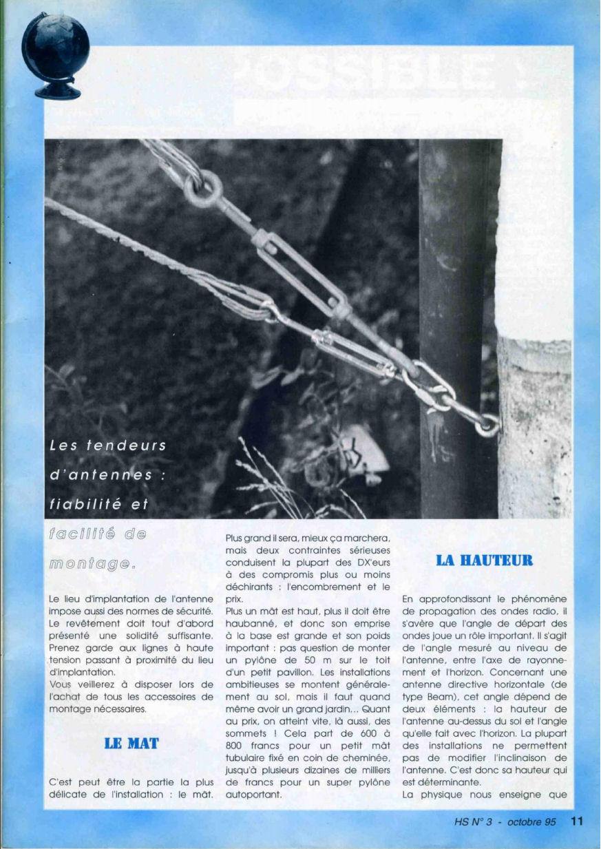 CB Connection - HS Spécial Antenne Fixes (Octobre 1995) Image114