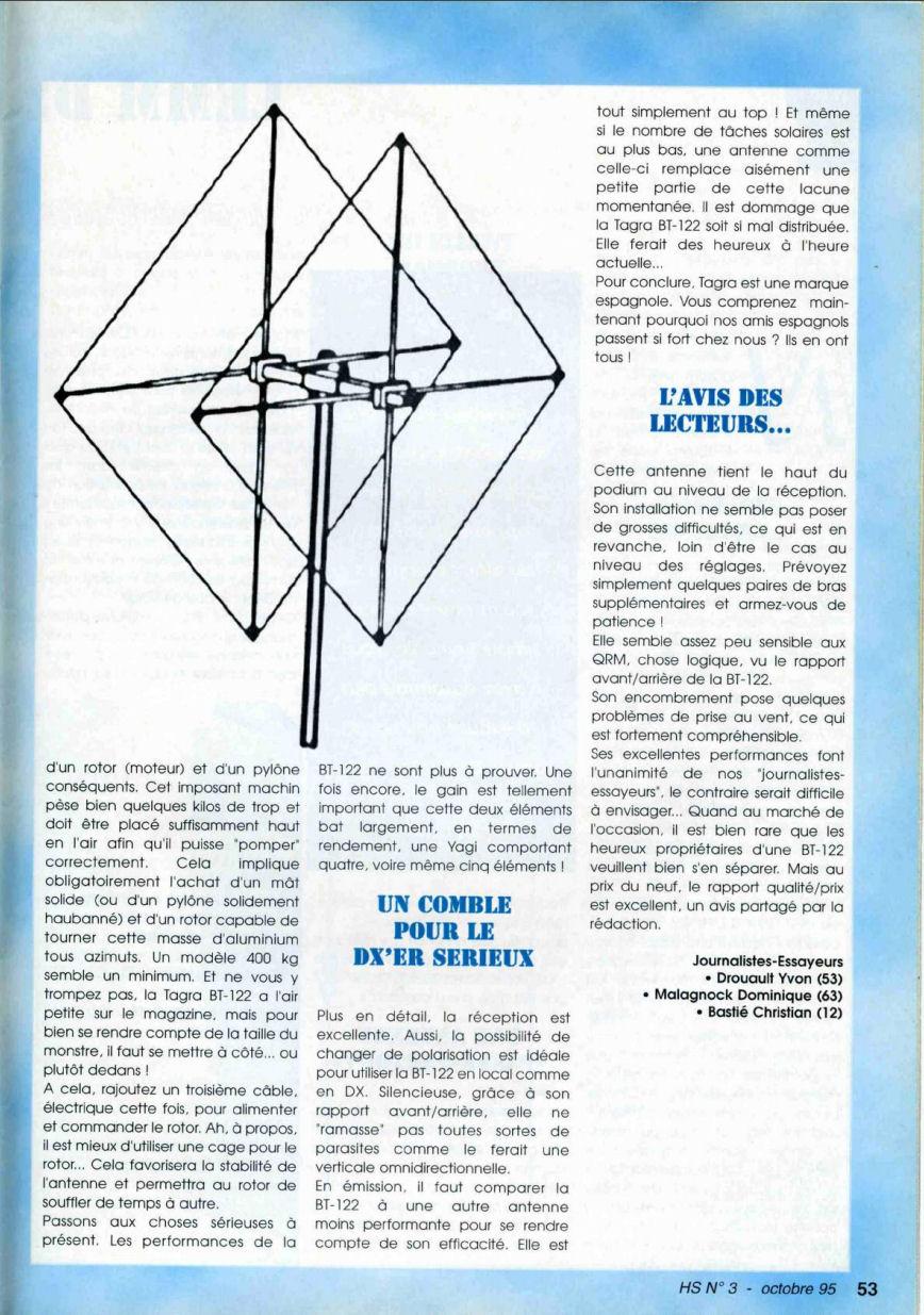 CB Connection - HS Spécial Antenne Fixes (Octobre 1995) Image115