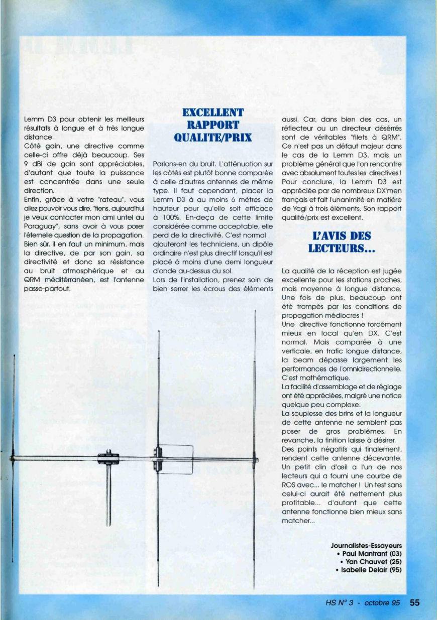 CB Connection - HS Spécial Antenne Fixes (Octobre 1995) Image117
