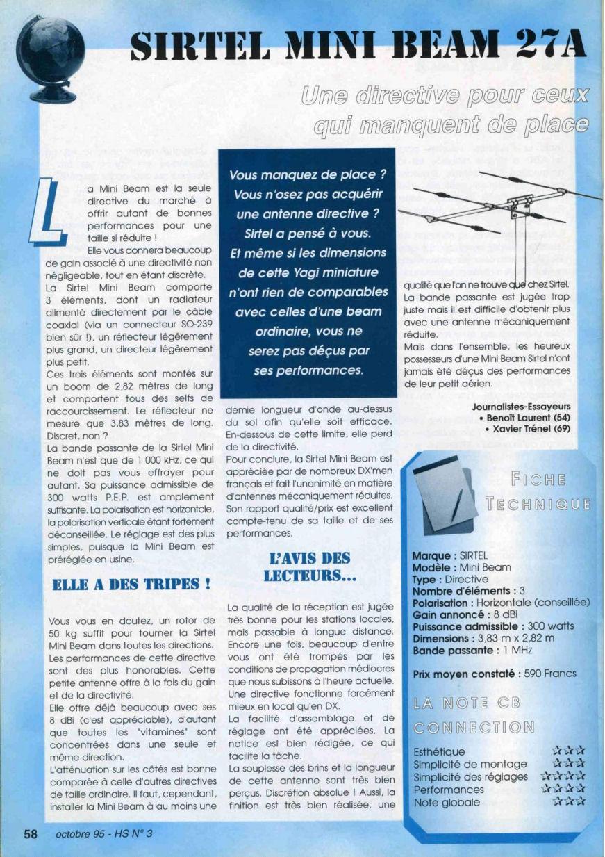CB Connection - HS Spécial Antenne Fixes (Octobre 1995) Image120