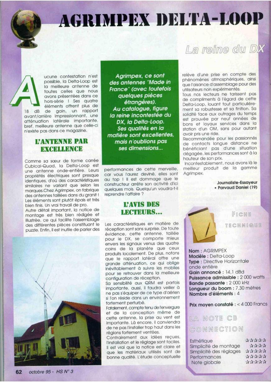 CB Connection - HS Spécial Antenne Fixes (Octobre 1995) Image123