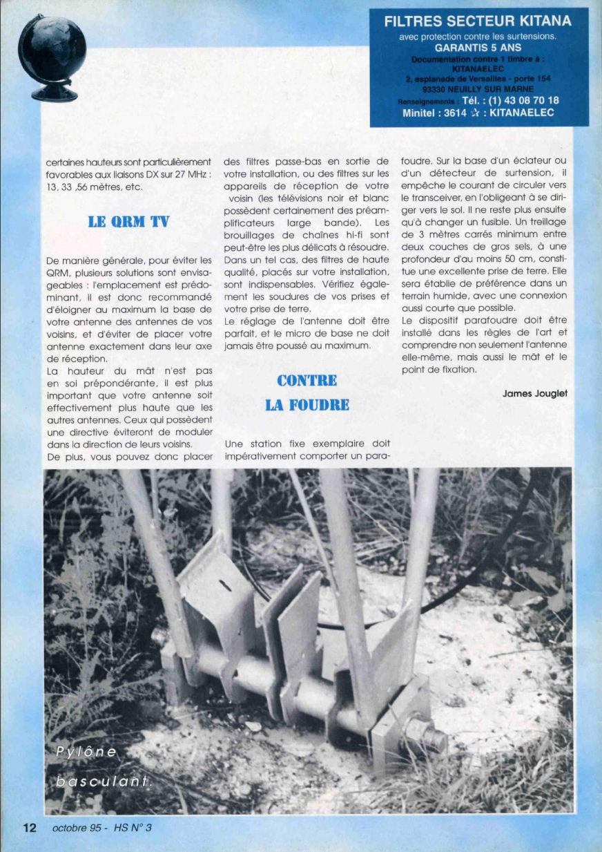 CB Connection - HS Spécial Antenne Fixes (Octobre 1995) Image210