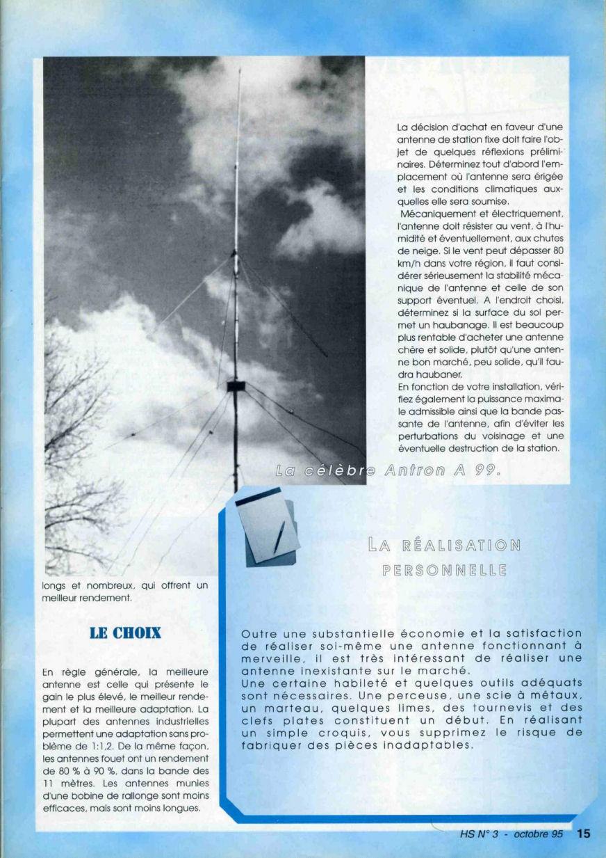 CB Connection - HS Spécial Antenne Fixes (Octobre 1995) Image212