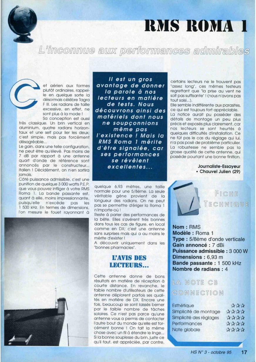 CB Connection - HS Spécial Antenne Fixes (Octobre 1995) Image214