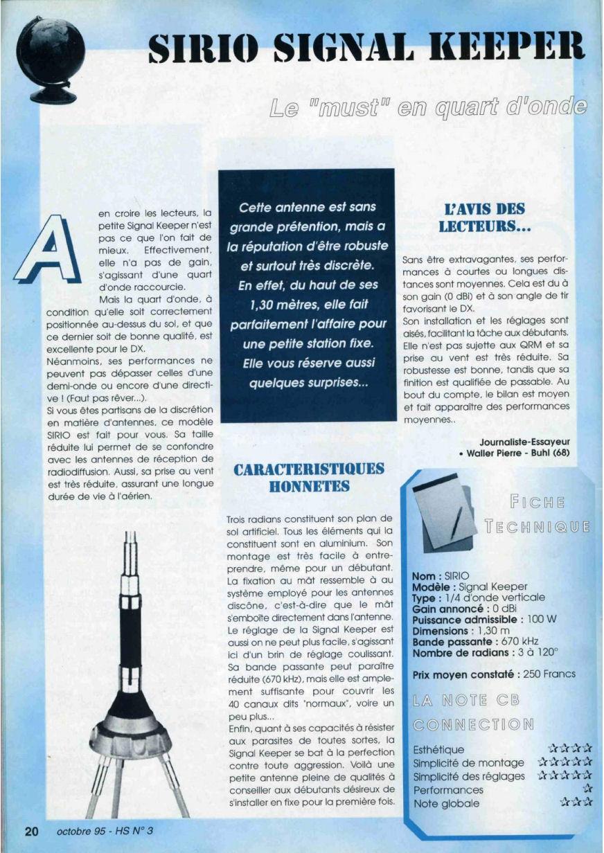CB Connection - HS Spécial Antenne Fixes (Octobre 1995) Image312