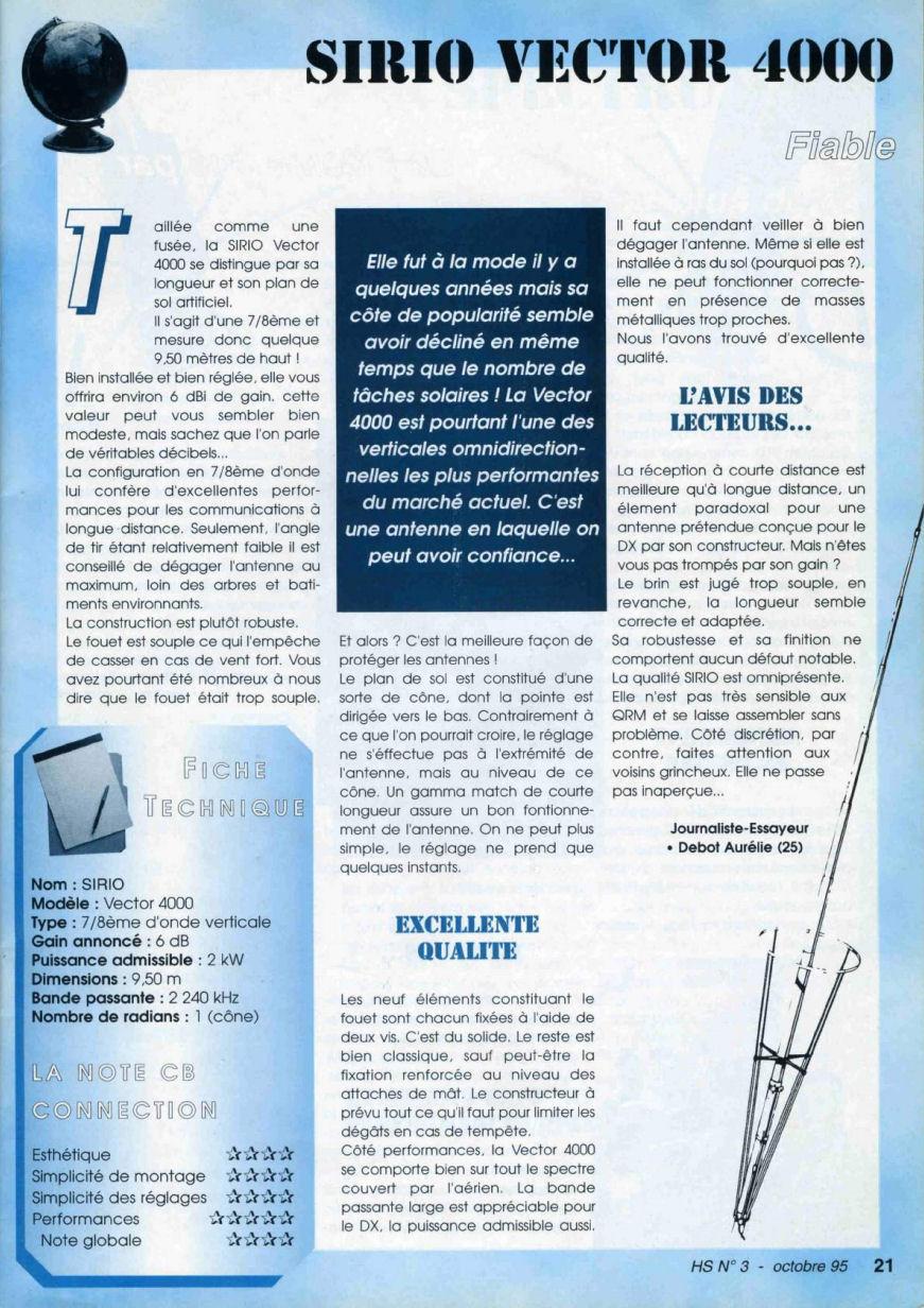 CB Connection - HS Spécial Antenne Fixes (Octobre 1995) Image313
