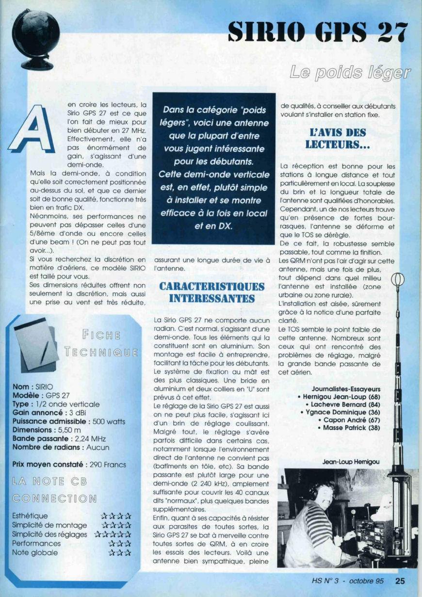 CB Connection - HS Spécial Antenne Fixes (Octobre 1995) Image412