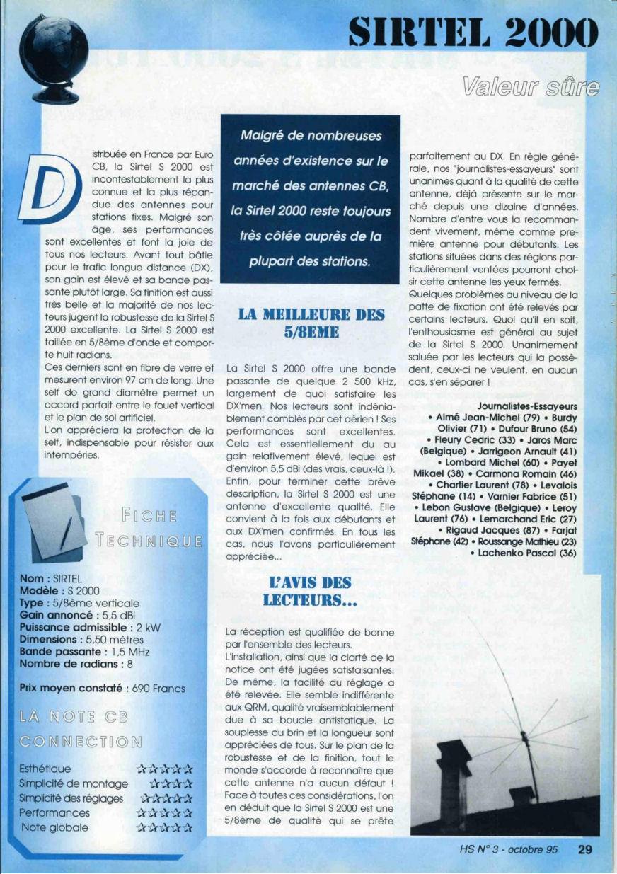 CB Connection - HS Spécial Antenne Fixes (Octobre 1995) Image511