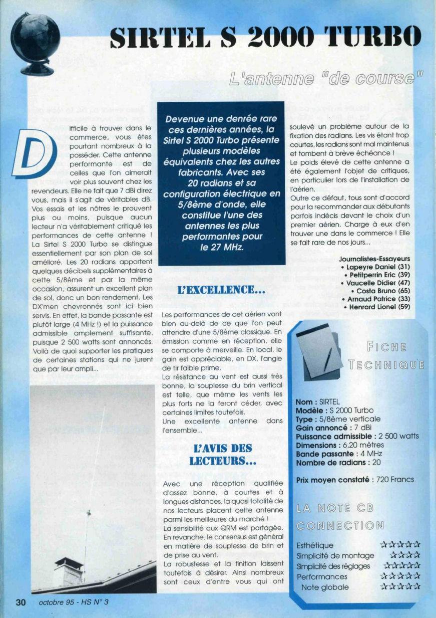 CB Connection - HS Spécial Antenne Fixes (Octobre 1995) Image512