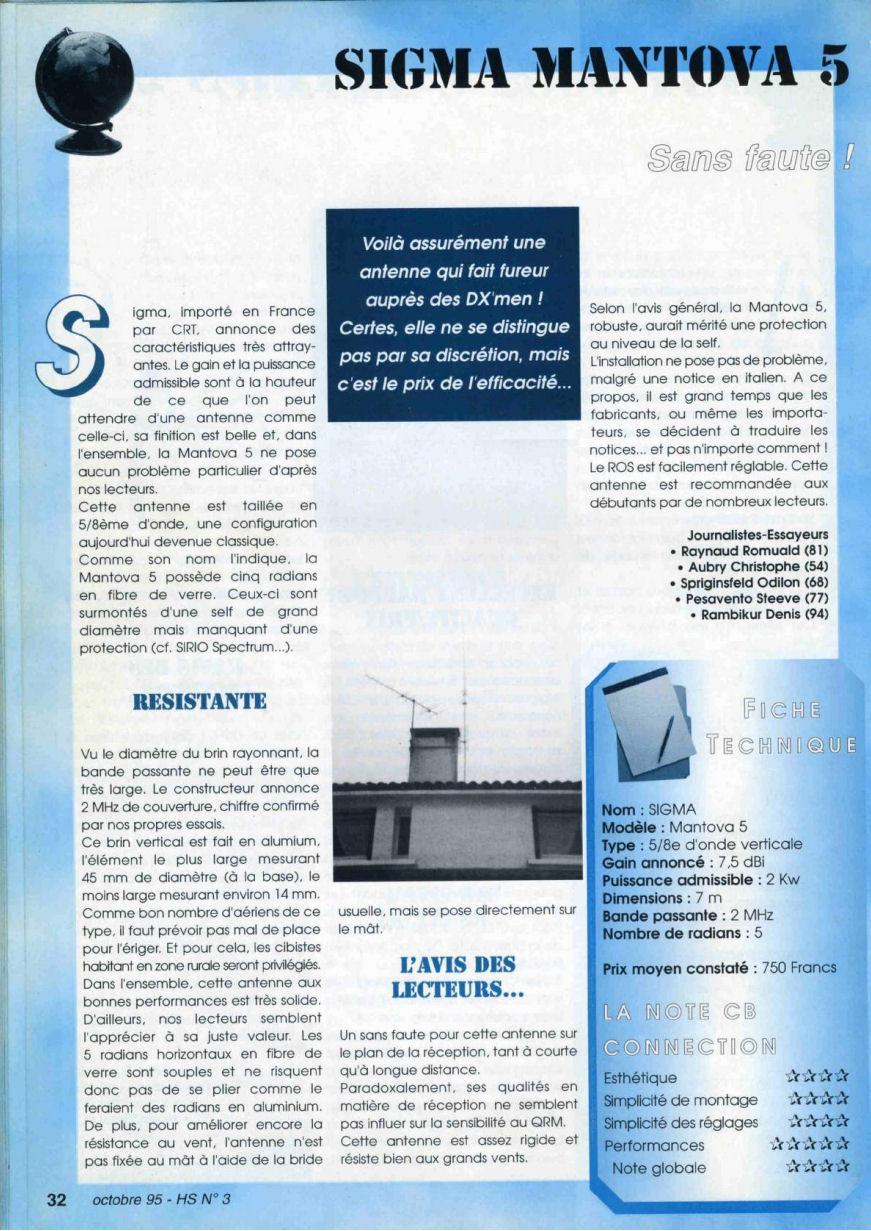 CB Connection - HS Spécial Antenne Fixes (Octobre 1995) Image514