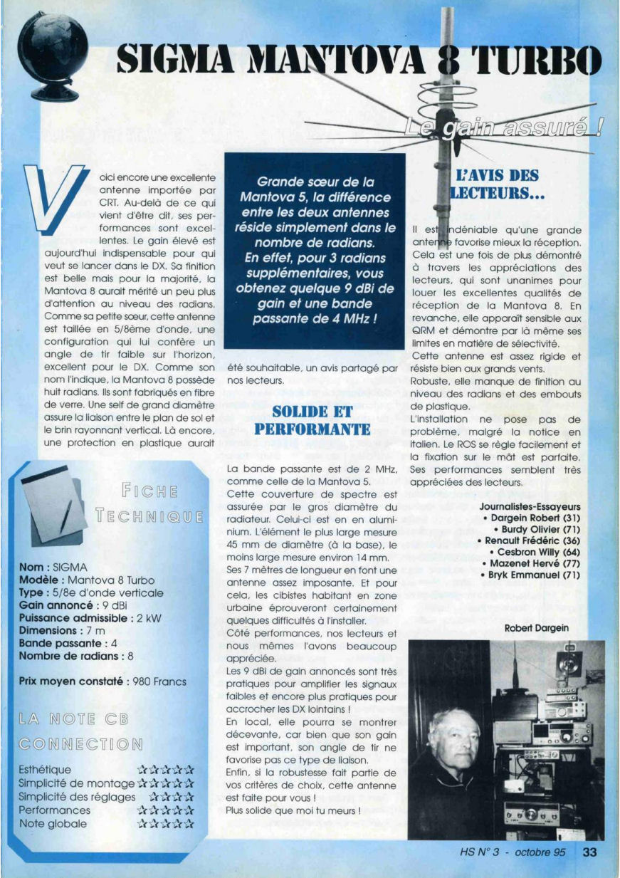 CB Connection - HS Spécial Antenne Fixes (Octobre 1995) Image610