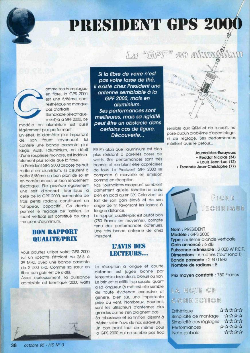 CB Connection - HS Spécial Antenne Fixes (Octobre 1995) Image618