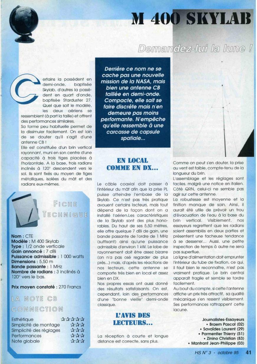 CB Connection - HS Spécial Antenne Fixes (Octobre 1995) Image715