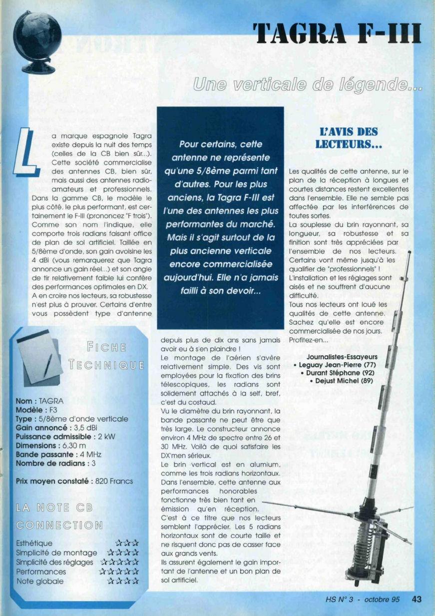 CB Connection - HS Spécial Antenne Fixes (Octobre 1995) Image717