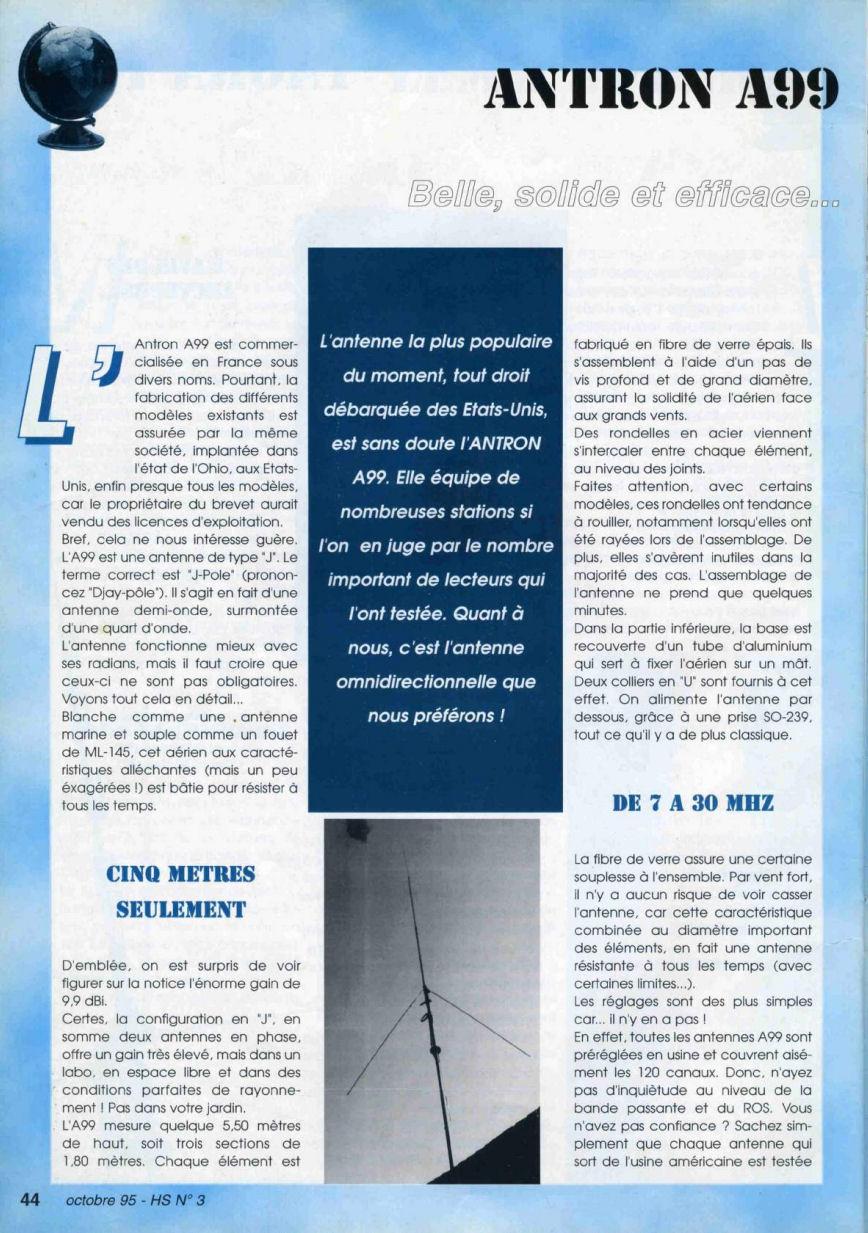CB Connection - HS Spécial Antenne Fixes (Octobre 1995) Image810