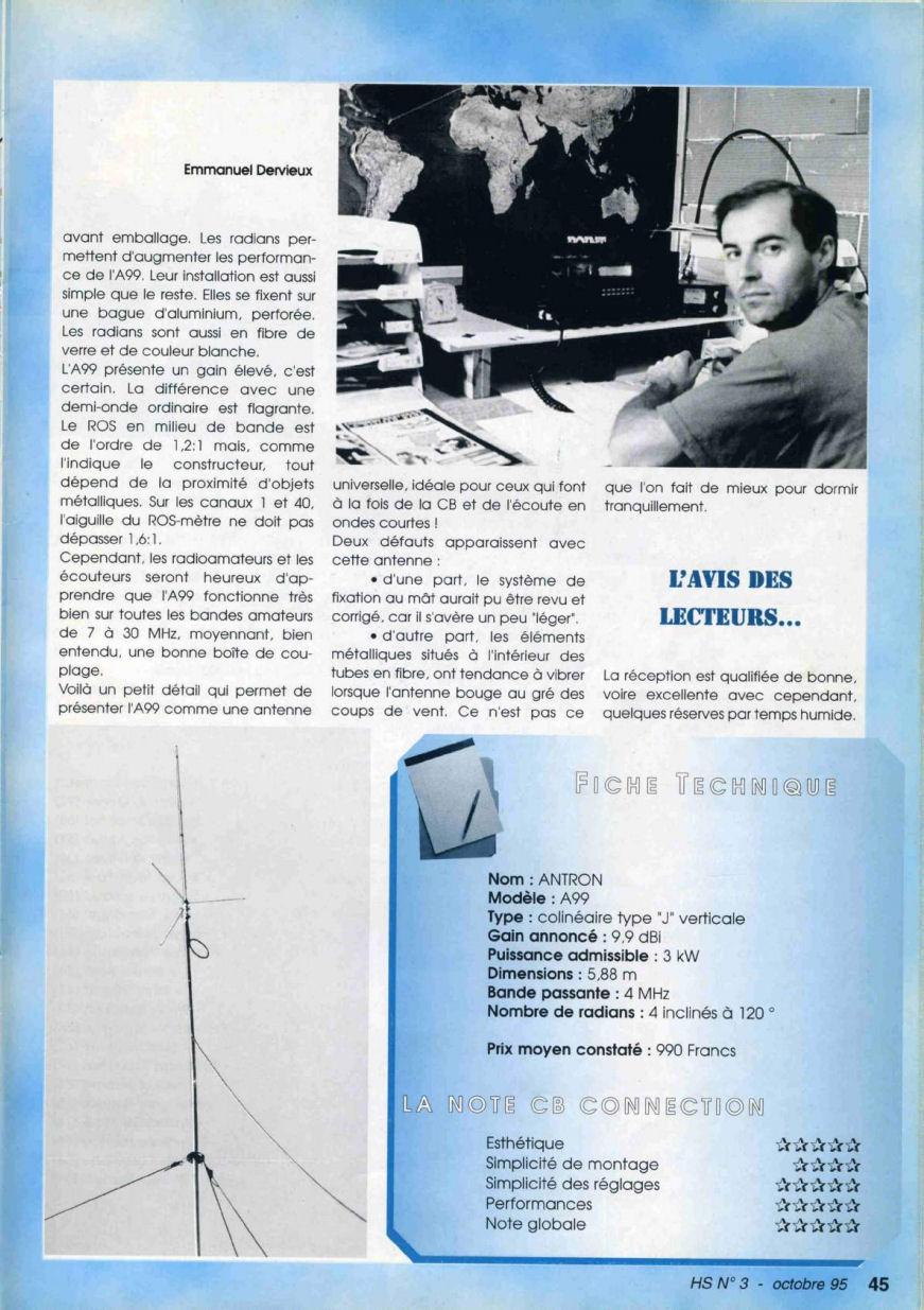 CB Connection - HS Spécial Antenne Fixes (Octobre 1995) Image811