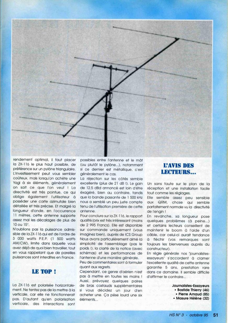 CB Connection - HS Spécial Antenne Fixes (Octobre 1995) Image914