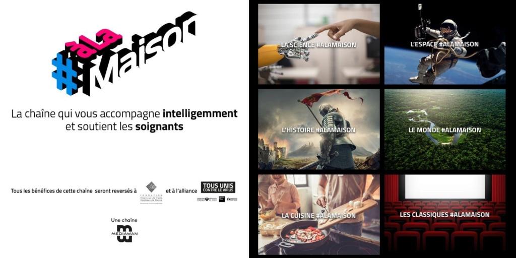 La chaîne #ALaMaison disponible sur le canal 28 de votre box VIDEOFUTUR Alamai11