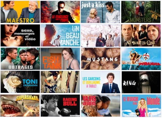 Avantage Abonné : Vos films inclus UniversCiné. Univer10