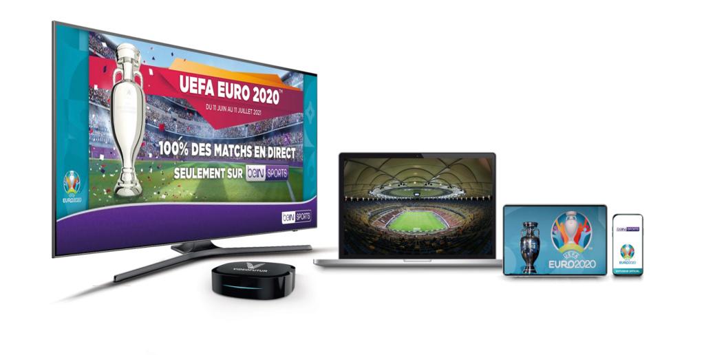 TOUS LES MATCHS DE L'UEFA EURO 2020TM SUR beIN SPORTS DONT 45 ACCESSIBLES EN 4K AVEC VIDEOFUTUR Visuel13