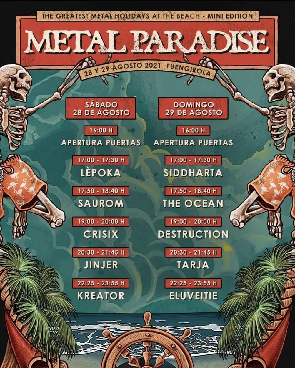 METAL PARADISE FEST - 28 y 29 de AGOSTO'21 (sí, ESTE agosto!!) en Fuengirola: Kreator, Destruction, The Ocean, Eluvietie, Krisix.... - Página 13 Photo-13