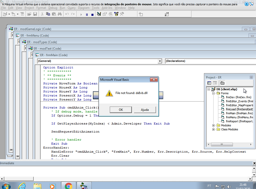 [AJUDA] VISUAL BASIC ECLIPSE RENEWAL Ttt10