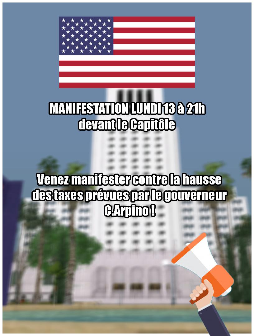 Affiche dans les rues de LS Manife10