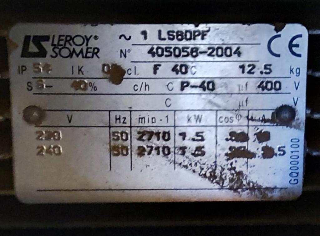 compatibilité moteur LUREM et variateur 20210810