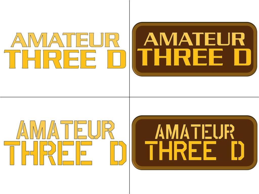 """Reproduction 3D de Fort Boyard par """"Amateur Three D"""" - Page 12 Logo_a10"""