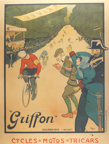Affiche cycles GRIFFON 1905 62816210