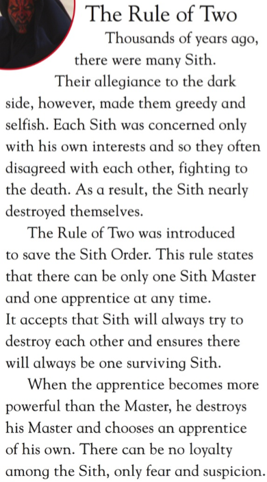 Concerning Darth Maul, Battle of the Sith Lords 66445210