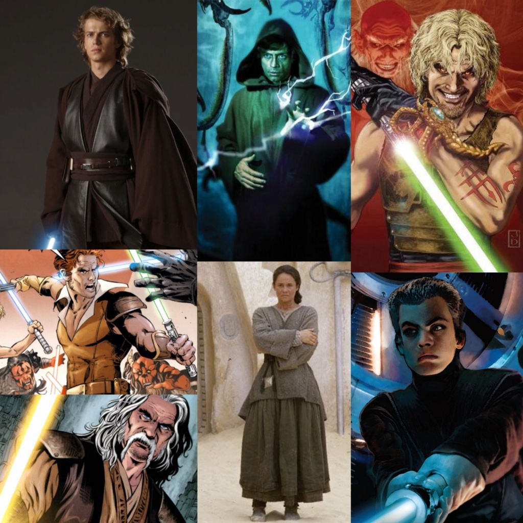 Anakin Skywalker vs Luke Skywalker vs Cade Skywalker vs Kol Skywalker vs Nat Skywalker vs Shmi Skywalker vs Ben Skywalker   C7fe2710