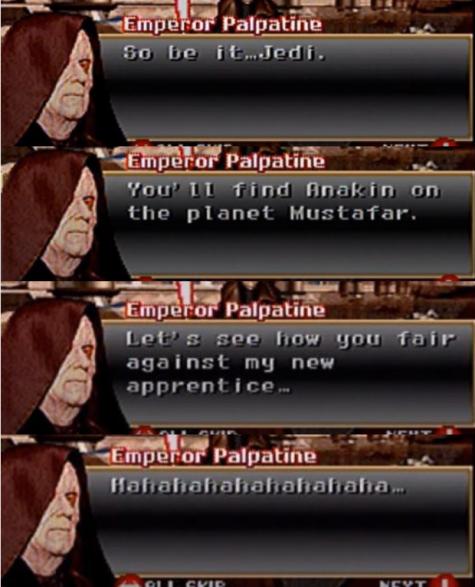 Hero of Coruscant vs Cin Drallig - Page 2 Sidiou10