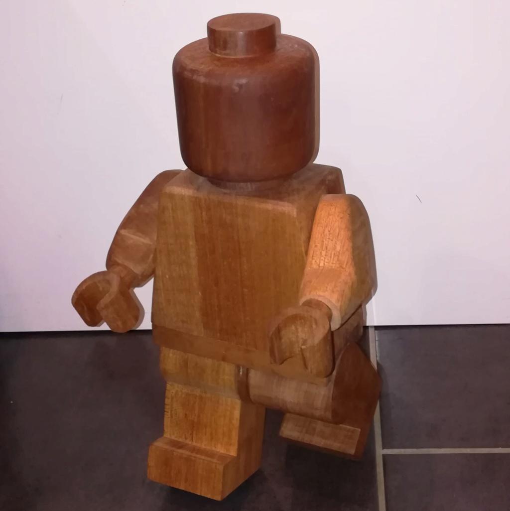 Il marche le bonhomme en bois 86459410