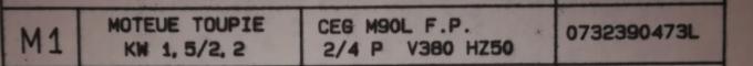 mise en marche d'un combiné SCM C30N - Page 2 Moteur10