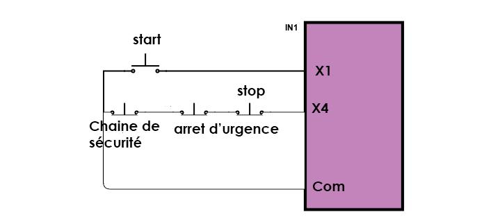 mise en marche d'un combiné SCM C30N Scheme10