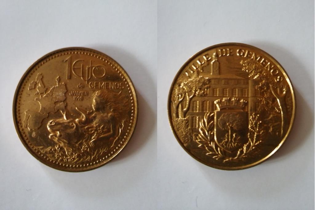 Les Euros et Ecus J.BALME 98-01-10